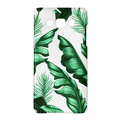 Banana Leaves And Fruit Isolated With Four Pattern Samsung Galaxy A5 Hardshell Case  by Celenk