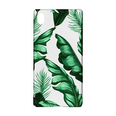 Banana Leaves And Fruit Isolated With Four Pattern Sony Xperia Z3+ by Celenk