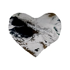 Winter Olympics Standard 16  Premium Heart Shape Cushions by Celenk