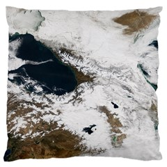 Winter Olympics Large Flano Cushion Case (two Sides) by Celenk