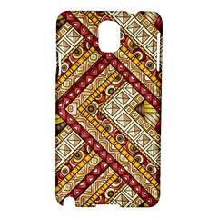 Ethnic Pattern Styles Art Backgrounds Vector Samsung Galaxy Note 3 N9005 Hardshell Case by Celenk
