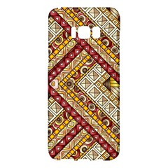 Ethnic Pattern Styles Art Backgrounds Vector Samsung Galaxy S8 Plus Hardshell Case