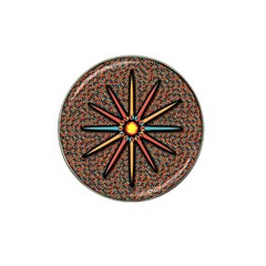 Star Hat Clip Ball Marker (4 Pack) by linceazul