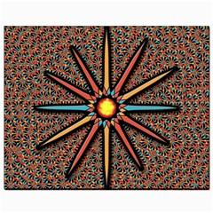 Star Canvas 8  X 10  by linceazul