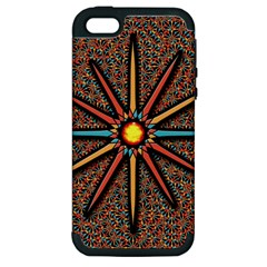 Star Apple Iphone 5 Hardshell Case (pc+silicone) by linceazul