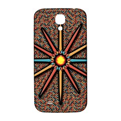 Star Samsung Galaxy S4 I9500/i9505  Hardshell Back Case by linceazul