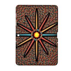 Star Samsung Galaxy Tab 2 (10 1 ) P5100 Hardshell Case  by linceazul