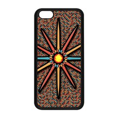 Star Apple Iphone 5c Seamless Case (black) by linceazul