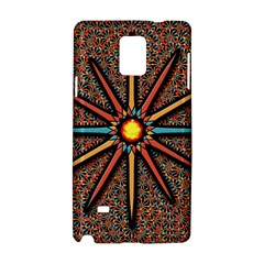 Star Samsung Galaxy Note 4 Hardshell Case by linceazul