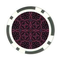 Modern Ornate Pattern Poker Chip Card Guard by dflcprints