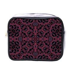 Modern Ornate Pattern Mini Toiletries Bags by dflcprints