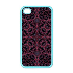 Modern Ornate Pattern Apple Iphone 4 Case (color) by dflcprints