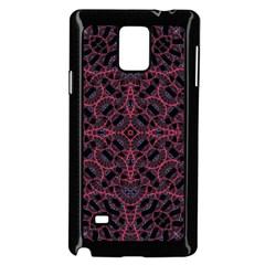 Modern Ornate Pattern Samsung Galaxy Note 4 Case (black) by dflcprints