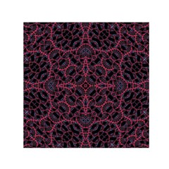 Modern Ornate Pattern Small Satin Scarf (square) by dflcprints