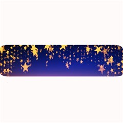 Christmas Background Star Curtain Large Bar Mats by Celenk