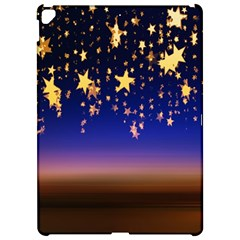 Christmas Background Star Curtain Apple Ipad Pro 12 9   Hardshell Case by Celenk