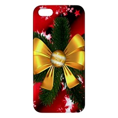 Christmas Star Winter Celebration Apple Iphone 5 Premium Hardshell Case by Celenk