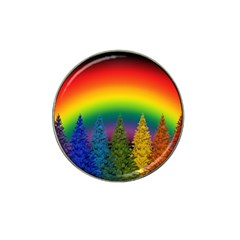 Christmas Colorful Rainbow Colors Hat Clip Ball Marker (10 Pack) by Celenk