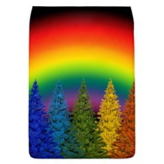 Christmas Colorful Rainbow Colors Flap Covers (l)  by Celenk