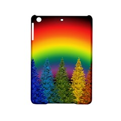Christmas Colorful Rainbow Colors Ipad Mini 2 Hardshell Cases by Celenk