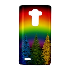 Christmas Colorful Rainbow Colors Lg G4 Hardshell Case by Celenk