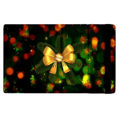 Christmas Celebration Tannenzweig Apple Ipad 3/4 Flip Case by Celenk
