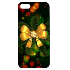 Christmas Celebration Tannenzweig Apple Iphone 5 Hardshell Case With Stand by Celenk