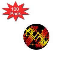 Board Conductors Circuits 1  Mini Buttons (100 Pack)  by Celenk