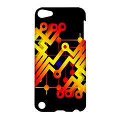 Board Conductors Circuits Apple Ipod Touch 5 Hardshell Case by Celenk