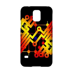 Board Conductors Circuits Samsung Galaxy S5 Hardshell Case  by Celenk
