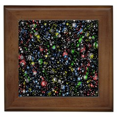 Universe Star Planet All Colorful Framed Tiles by Celenk
