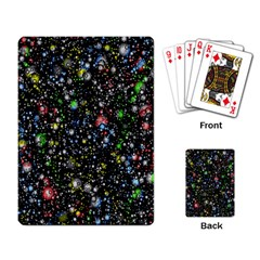 Universe Star Planet All Colorful Playing Card by Celenk
