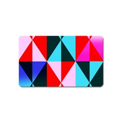 Geometric Pattern Magnet (name Card) by Celenk