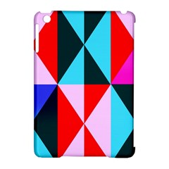 Geometric Pattern Apple Ipad Mini Hardshell Case (compatible With Smart Cover) by Celenk