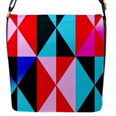 Geometric Pattern Flap Messenger Bag (s) by Celenk
