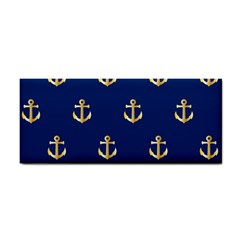 Gold Anchors Background Cosmetic Storage Cases by Celenk