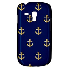 Gold Anchors Background Galaxy S3 Mini by Celenk