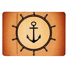Nautical Anchor Marine Ocean Sea Samsung Galaxy Tab 8 9  P7300 Flip Case by Celenk