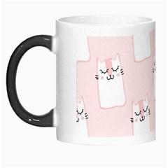 Pattern Cat Pink Cute Sweet Fur Morph Mugs