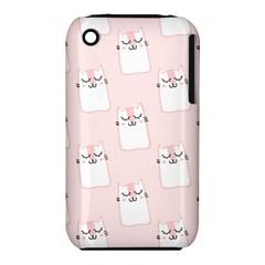 Pattern Cat Pink Cute Sweet Fur iPhone 3S/3GS
