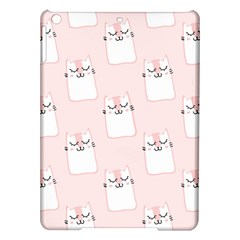 Pattern Cat Pink Cute Sweet Fur iPad Air Hardshell Cases