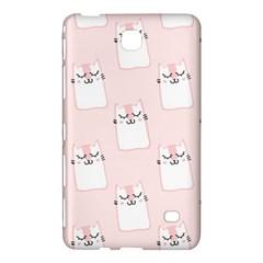 Pattern Cat Pink Cute Sweet Fur Samsung Galaxy Tab 4 (7 ) Hardshell Case