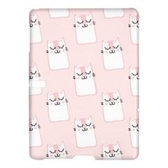 Pattern Cat Pink Cute Sweet Fur Samsung Galaxy Tab S (10.5 ) Hardshell Case