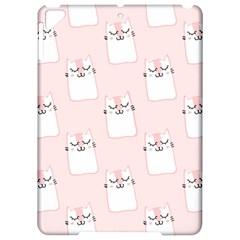Pattern Cat Pink Cute Sweet Fur Apple iPad Pro 9.7   Hardshell Case