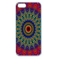 Kaleidoscope Mandala Pattern Apple Seamless Iphone 5 Case (color) by Celenk