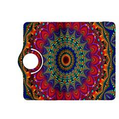 Kaleidoscope Mandala Pattern Kindle Fire Hdx 8 9  Flip 360 Case