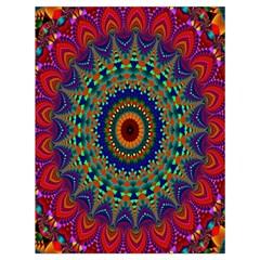 Kaleidoscope Mandala Pattern Drawstring Bag (large) by Celenk