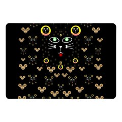 Merry Black Cat In The Night And A Mouse Involved Pop Art Apple Ipad Pro 10 5   Flip Case by pepitasart
