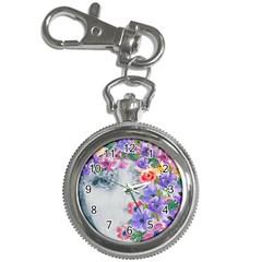 Flower Girl Key Chain Watches by 8fugoso