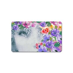 Flower Girl Magnet (name Card) by 8fugoso